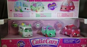 Shopkins Cutie Cars (3 pack) Freezy Riders